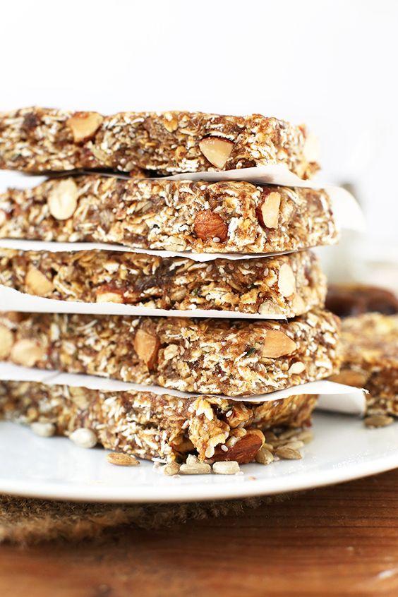 Hjemmelaget granola bar