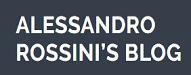 ALESSANDRO ROSSINIS BLOG