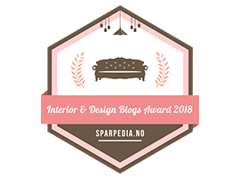 Banners  for  Interiør-  og  designblogg-awards  2018