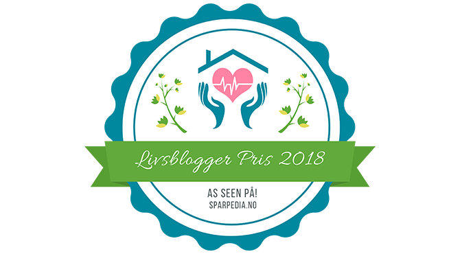 Banners  for    Livsblogger  Pris  2018