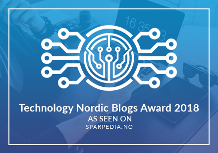 Banners  for  Nordic  Technology  Blogs  Award  2018