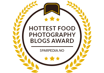 Banners  for  Hottest  Food  Photography  Blogs  Award  2018