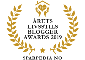 Banners  for  Årets  livsstilsblogger  awards  2019