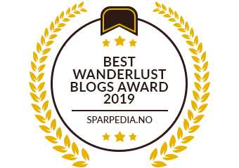 Banners for Best Wanderlust Blogs Award  2019