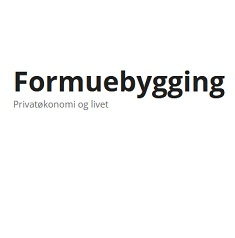 Finance Blogs Award |Formuebygging