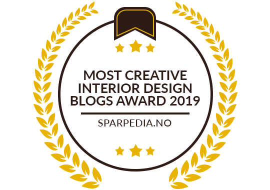 Banners  for  Most  Creative  Interior  Design  Blogs  Award  2019